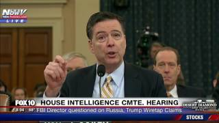 WOW: FBI Director Comey Says Obama COULD NOT Wiretap Trump Tower, Comments on Trump's Tweets (FNN)