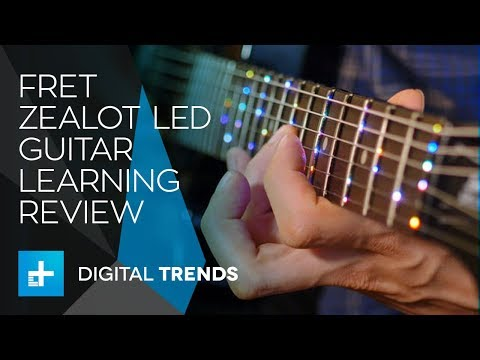 Fret Zealot LED Guitar Learning System - Hands On Review