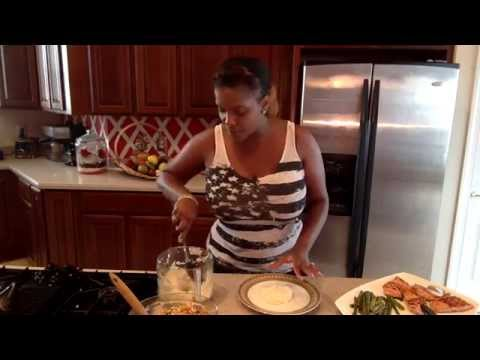 Let's Cook, Let's Chat w/India Sweet Epi. 10 Grilled Salmon w/Mango Crab Salsa