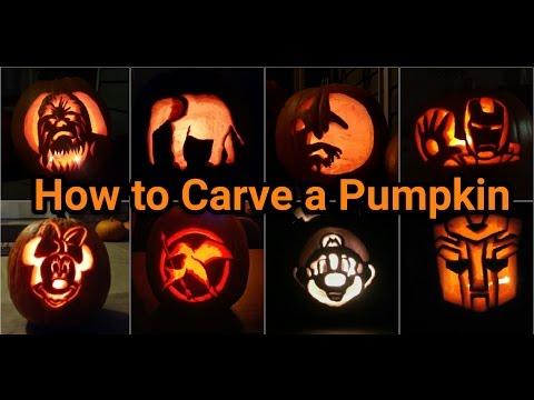 How to Carve a Pumpkin Like a Pro!