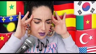 Video Je chante en 14 langues 😱🌎 ⎮ I'm singing in 14 languages MP3, 3GP, MP4, WEBM, AVI, FLV Agustus 2017