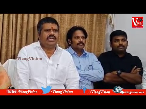 Minister Avanthi Srinivas Comments on ChandraBabu Naidu in Visakhapatnam,Vizagvision...