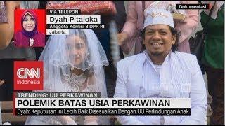 Video Polemik Batas Usia Perkawinan - Dyah Pitaloka, Anggota Komisi 8 DPR RI MP3, 3GP, MP4, WEBM, AVI, FLV Desember 2018