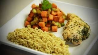 Fuel with the Longhorns: Baked Chicken and Roasted Vegetables