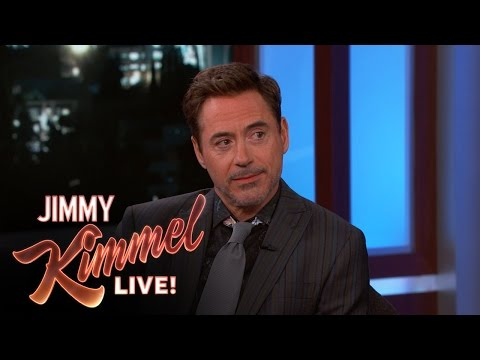 Robert Downey Jr on Marvel s New SpiderMan