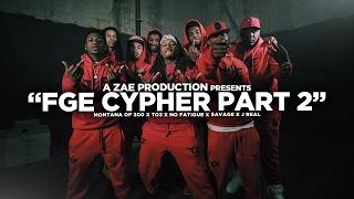 Montana Of 300, TO3, Savage, No Fatigue & J Real FGE Cypher Pt. 2 rap music videos 2016