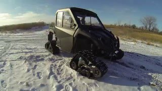 5. Ultimate 2014 Yamaha Viking EPS SE with Tracks and Cab at Biegler's C&S Motorsports