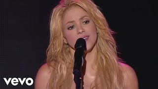 Shakira - Je L'aime A Mourir (Live From Paris) - YouTube