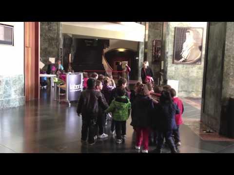 La Escuela Infantil El Bibio visita la Escuela de Arte