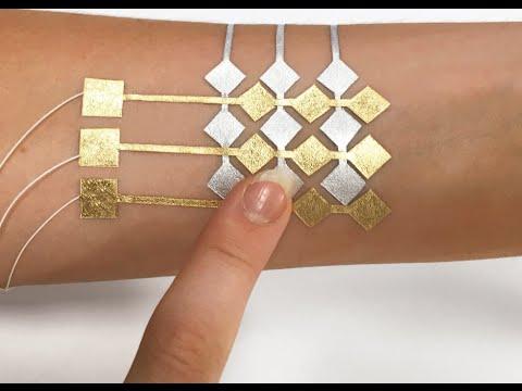I Love Science / DuoSkin - татуировка-интерфейс на основе сусального золота