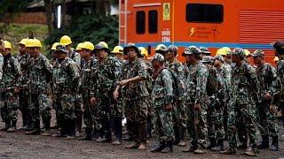 Video Thailand cave rescue: Officials still debating how to get stranded soccer team out MP3, 3GP, MP4, WEBM, AVI, FLV September 2018