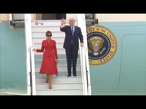 Στο Παρίσι ο Αμερικανός πρόεδρος Ντόναλντ Τραμπ