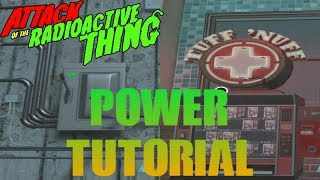 Power Tutorial and Tuff 'Nuff Location in Attack of the Radioactive Thing  Call of Duty: Infinite Warfare Zombies