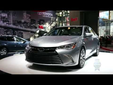 Auto - FOR MORE AUTO SHOW VIDEOS & NEWS VISIT: http://www.kbb.com/car-news/all-the-latest/new-york-auto-show/14111/ Kelley Blue Book coverage of the 2015 Toyota Cam...