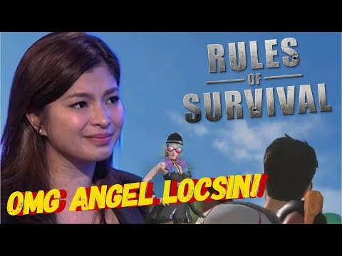 RULES OF SURVIVAL LIVE STREAM WITH ANGEL LOCSIN