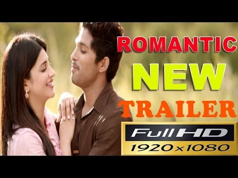 Race Gurram Latest Romantic Trailer  Allu Arjun Shruti Hasan