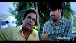 Ready Comedy - Brahmi's Fake World Comes True - Ram, Genelia D'Souza