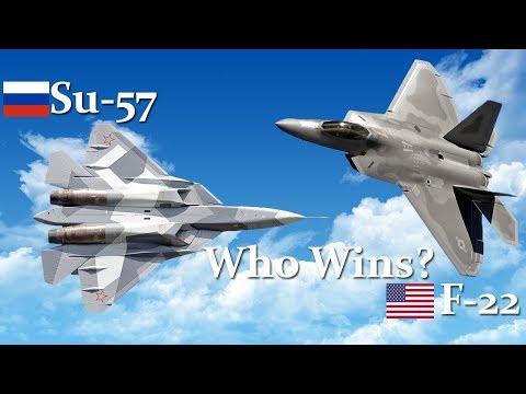 Russia's Su-57 vs. America's F-22...