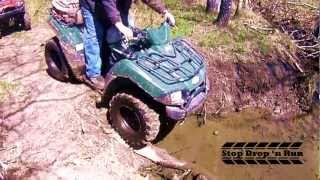 2. Kawasaki Brute Force 650 ATV 4x4 Mudding
