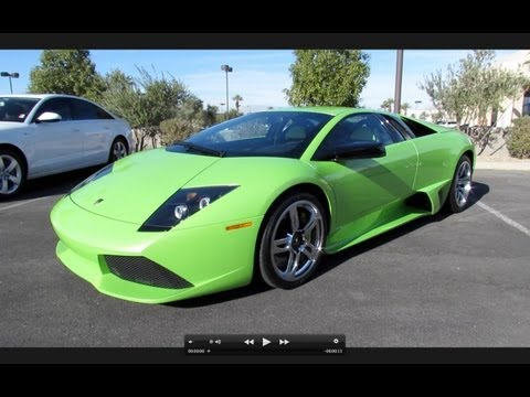 Murciélago - Hello and welcome to Saabkyle04! YouTube's largest collection of automotive variety! In today's video, we'll take an up close and personal, in depth look at ...