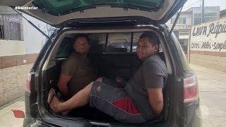 Bauru: presos homens do golpe da garagem