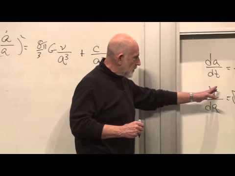 lecture - Help us caption and translate this video on Amara.org: http://www.amara.org/en/v/BWxT/ (September 21, 2013) Leonard Susskind solves the expansion equation fo...