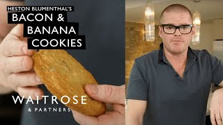 Heston Blumenthal's Bacon and Banana Cookies | Waitrose