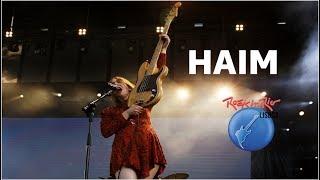 HAIM -  Don't Save Me - Rock In Rio Lisboa 2018