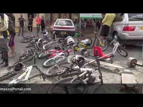 Downhill Drift Trikes (видео)