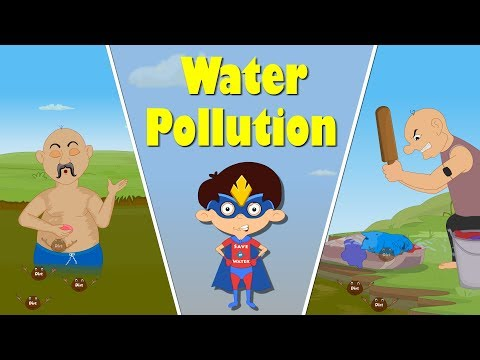 Water Pollution for Kids | It's AumSum Time