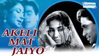 Akeli Mat Jaiyo  Meena Kumari  Rajendra Kumar  Hindi Full Movie