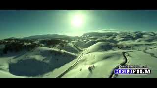 تصوير من السماء للتزلج على الجليد