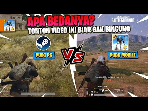 Perbandingan PUBG PC Vs PUBG Mobile - APA BEDANYA ?
