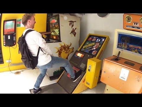 Какие игровые автоматы есть в музее советских игровых автоматов