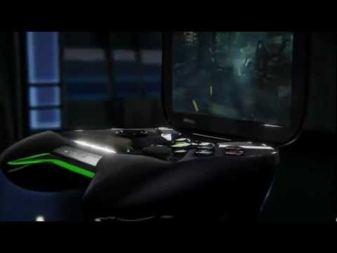 Nvidia Project Shield demo