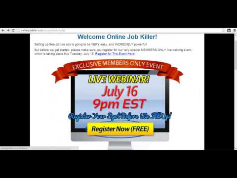 Online Job Killer Review Video