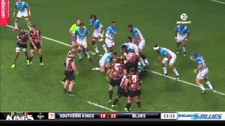 Southern Kings v Blues Rd.11 2016 | Super Rugby Video Highlights