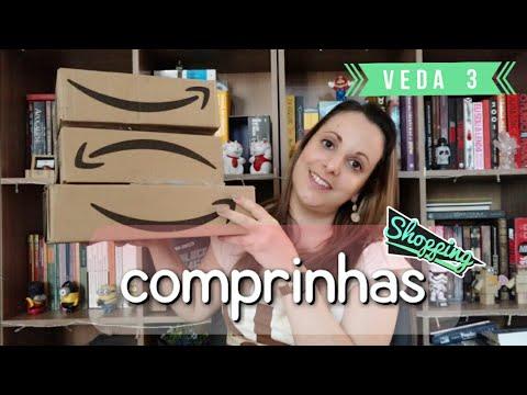 Comprinhas Amazon Day   Fake Unboxing   VEDA 03   Pilha de Leitura