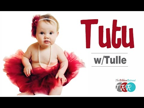 How To Make A Tutu With Tulle - TheRibbonRetreat.com