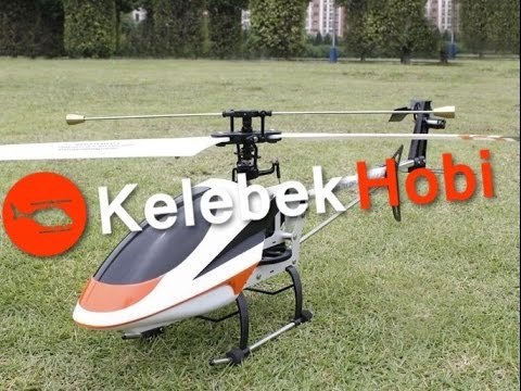 RC Helikopter   74 cm   Büyük Uzaktan Kumandalı Tek Rotorlu Model