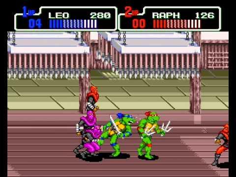 teenage mutant ninja turtles the hyperstone heist sega genesis rom