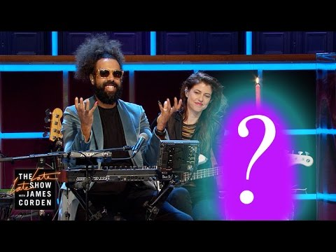 Reggie Watts Gets a Special Birthday Gift