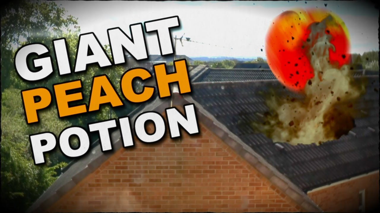 How To Make A Giant Peach Potion