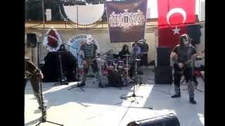 mersin belediyesinde black metal konseri morin dagor