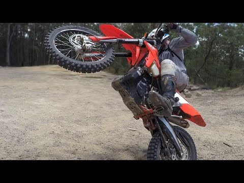 HOW TO RIDE A DIRT BIKE!