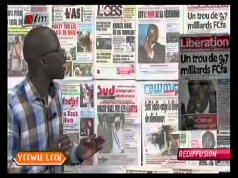 Revue de Presse - 10 Mai 2013