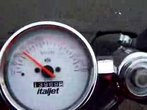 Italjet Dragster ! Test Drive