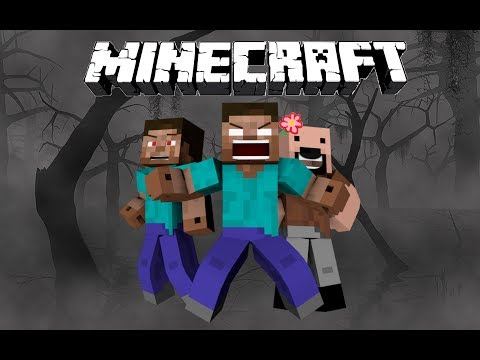 How Herobrine Lost His Eyes - Minecraft (видео)