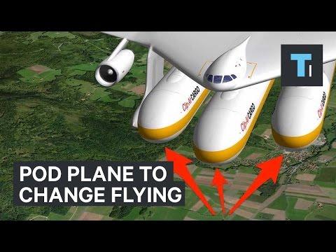 Под самолет, чтобы изменить летать