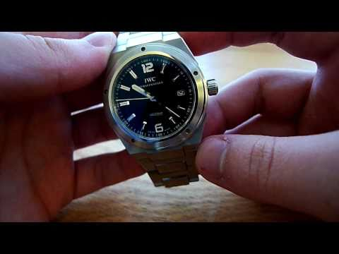 IWC Reviews - This is the IWC Ingenieur (or Ingy for short) watch. It features an in-house movement, anti-magnetic protection, shock absorption, and a fantastic bracelet.